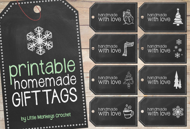 picture relating to Free Printable Tags named Free of charge Printable: Home made Chalkboard Reward Tags