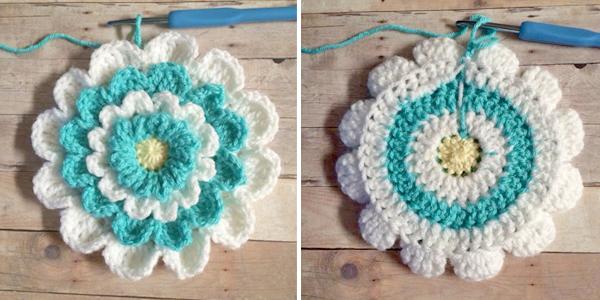 Little Girls Wildflower Purse Free Crochet Pattern By Little